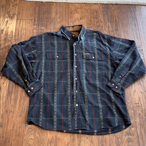 Clearwater Outfitters Button Down Shirt L